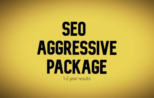 SEO Aggressive Package