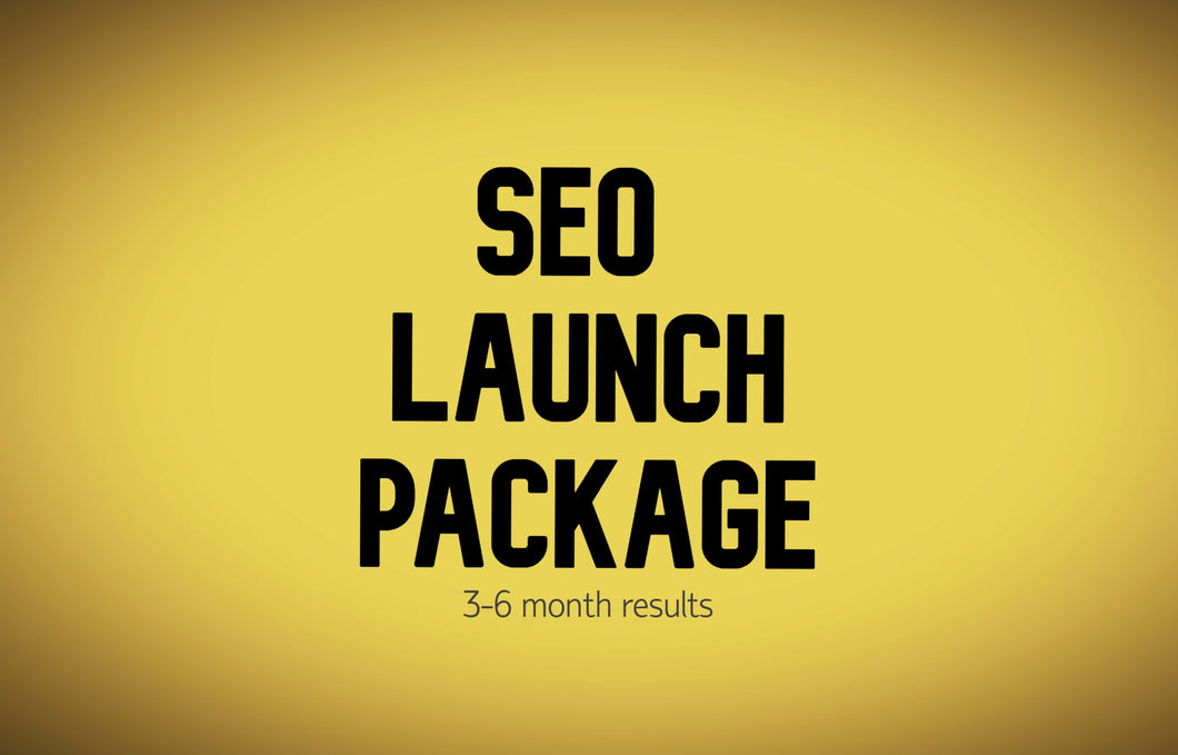 SEO Launch Package