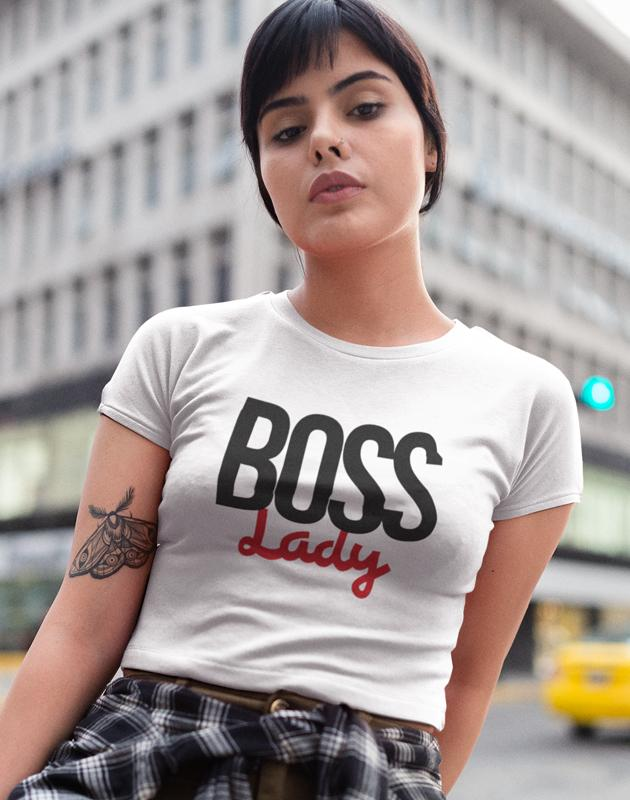 Boss Lady Women's Crop Top