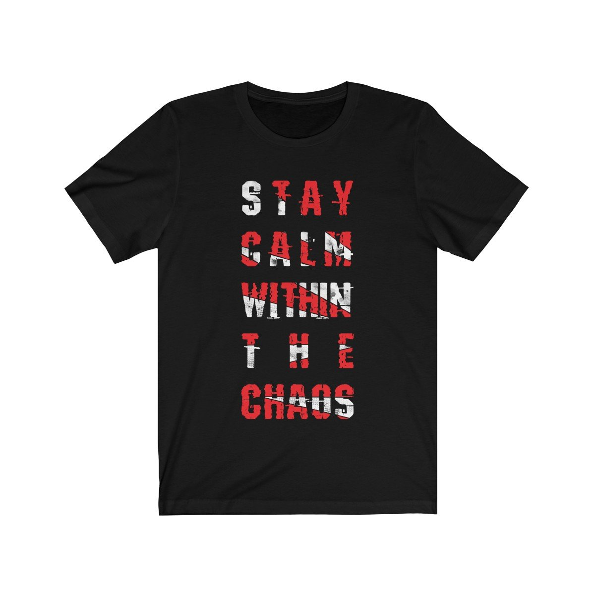 Stay Calm Within the Chaos Short Sleeve Tee
