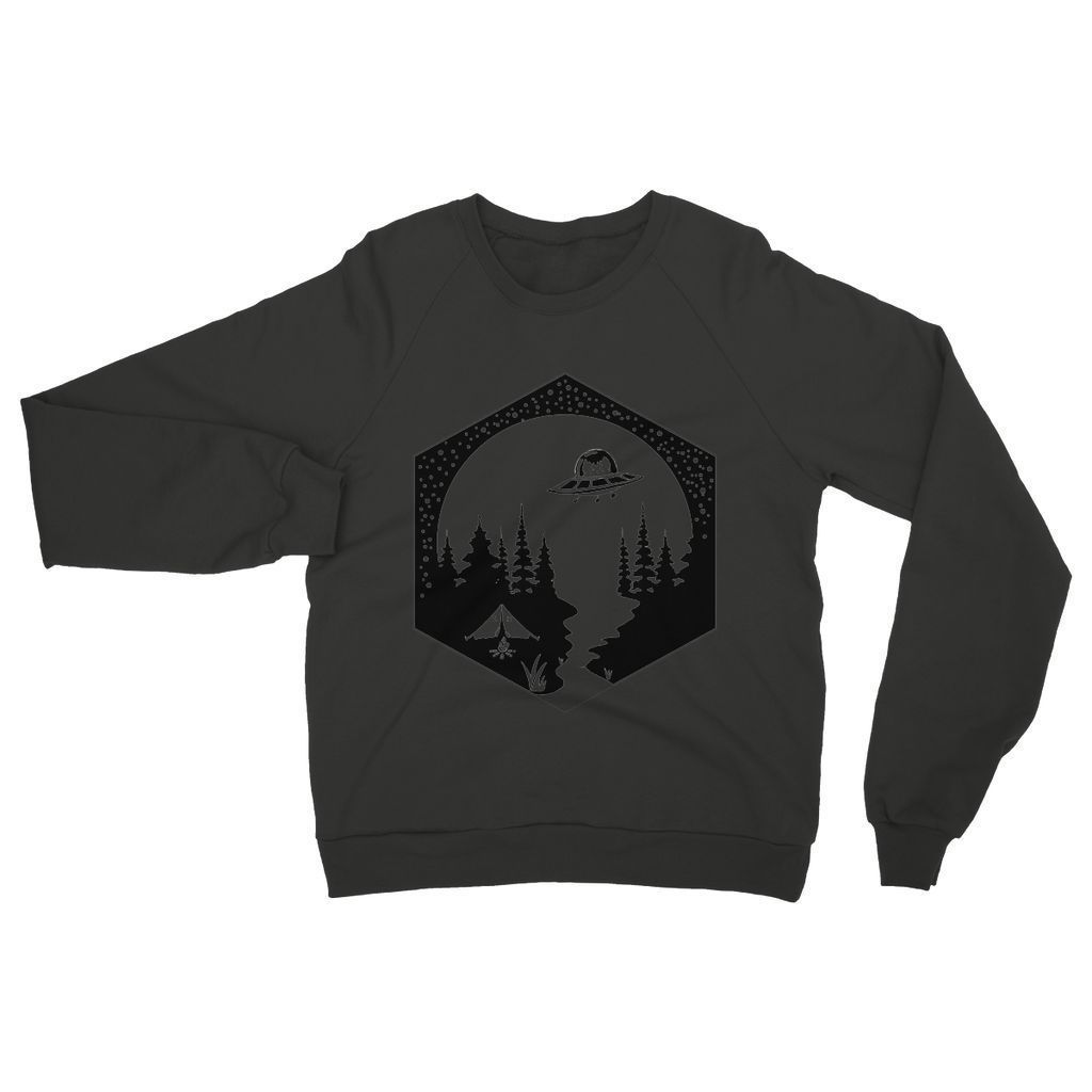 Cats Camping Womens Sweatshirt