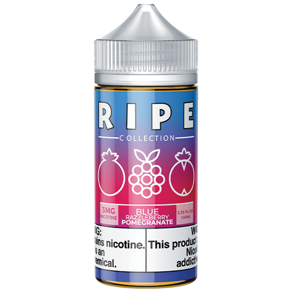 Blue Razzleberry Pomegranate by Vape 100