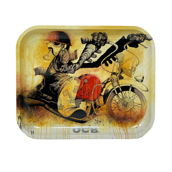 OCB Slow Burn Motorcycle Rolling Tray *Limited Edition*