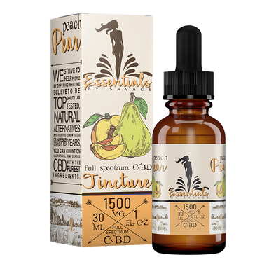 Peach Pear Full Spectrum Tincture by Savage CBD