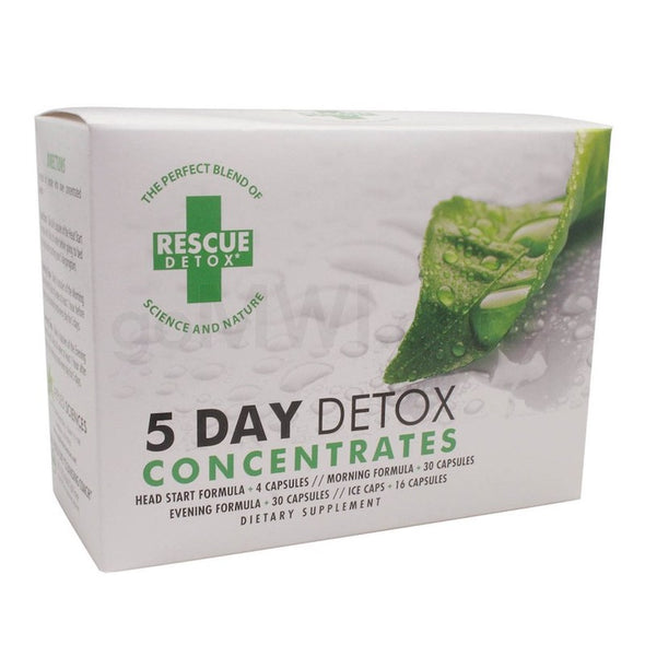 Rescue Detox 5 Day Concentrate System
