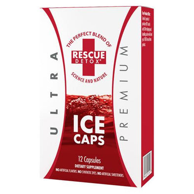 Rescue Detox Ultra Premium Ice Caps