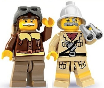 How do I make a LEGO Treasure Hunt?