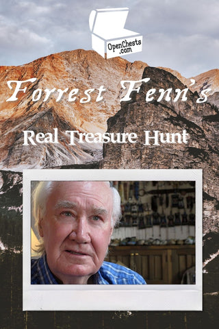 Forrest Fenn's Real Treasure Hunt in the Rocky Mountains