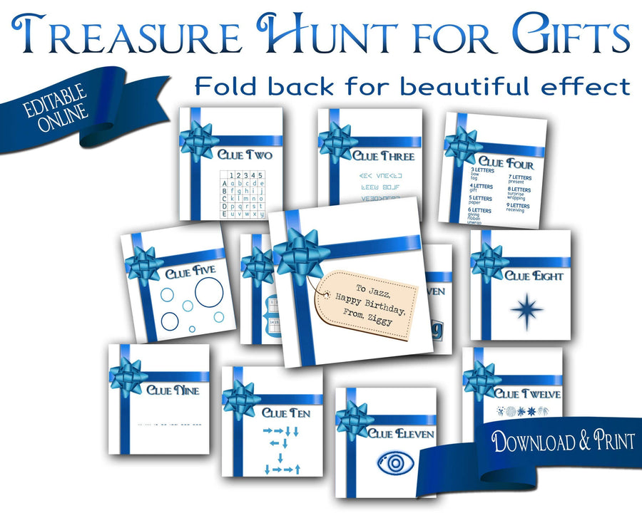 Treasure Hunt for Giving Gifts - Open Chests