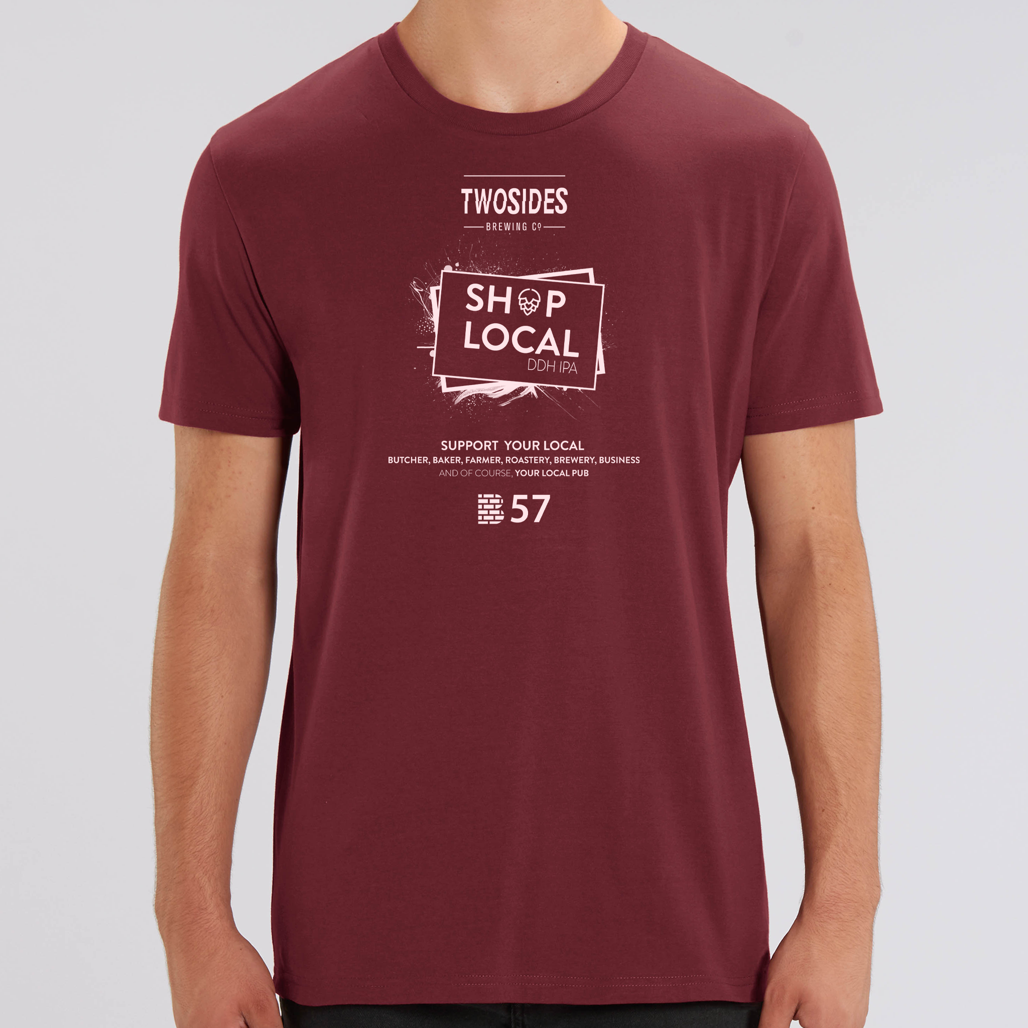 Two Sides | SHOP LOCAL | Mens Tees