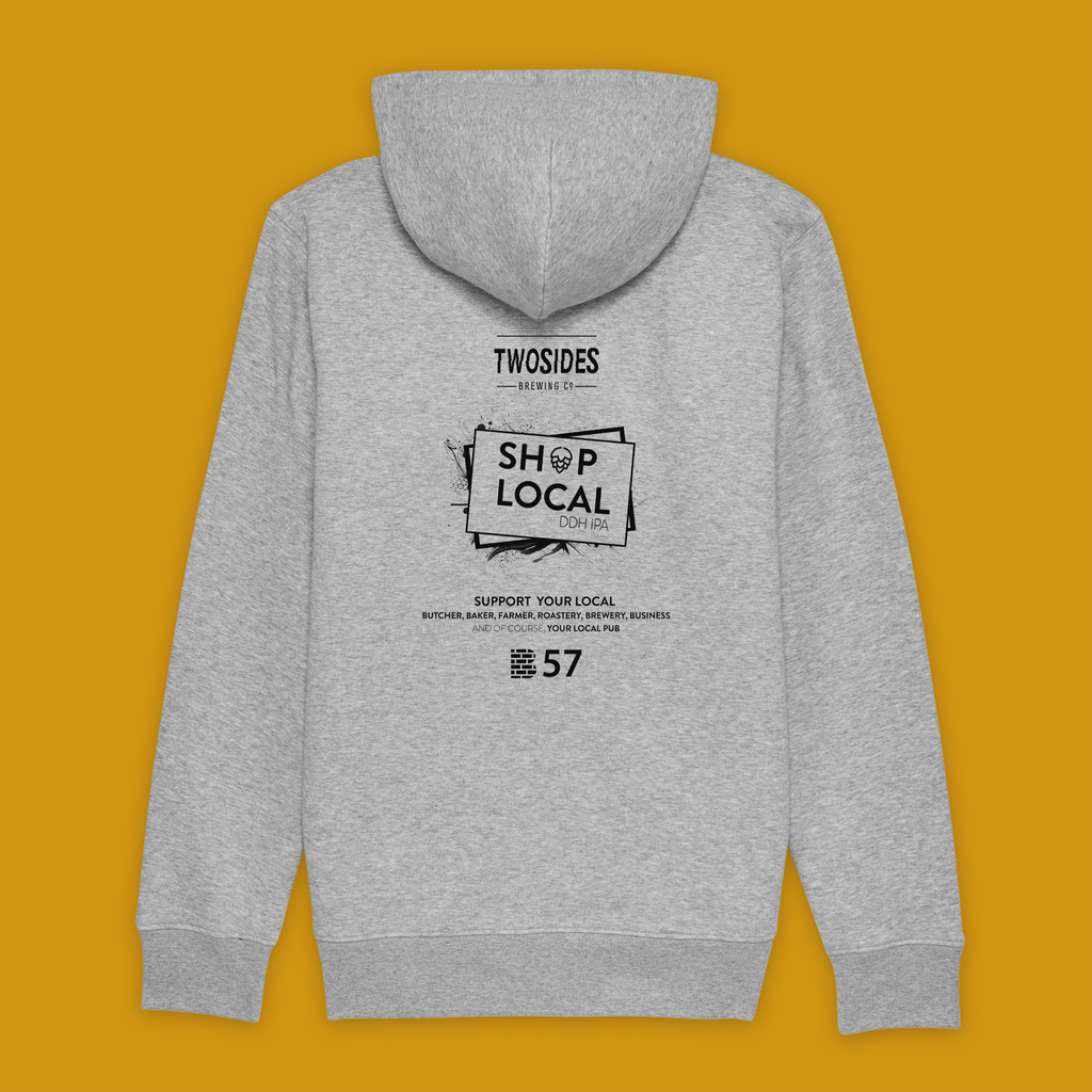 Two Sides | SHOP LOCAL | Zip Hoodies