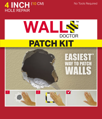 "WallDoctor 4"" Drywall Patch Kit"