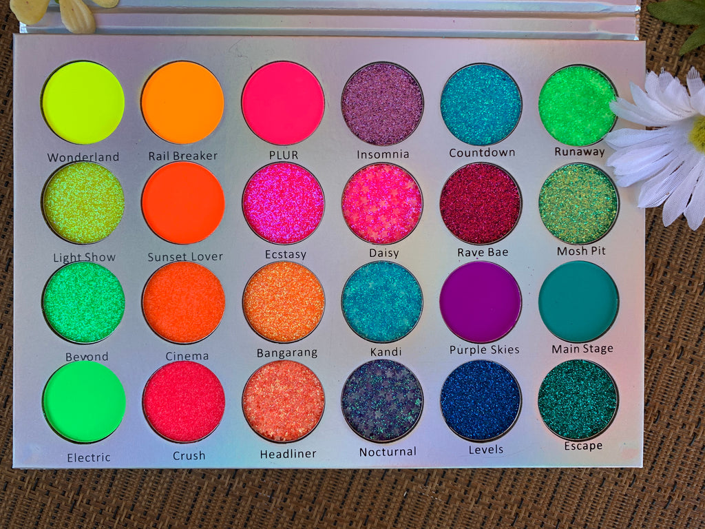 UV Reactive Electric Sky Palette