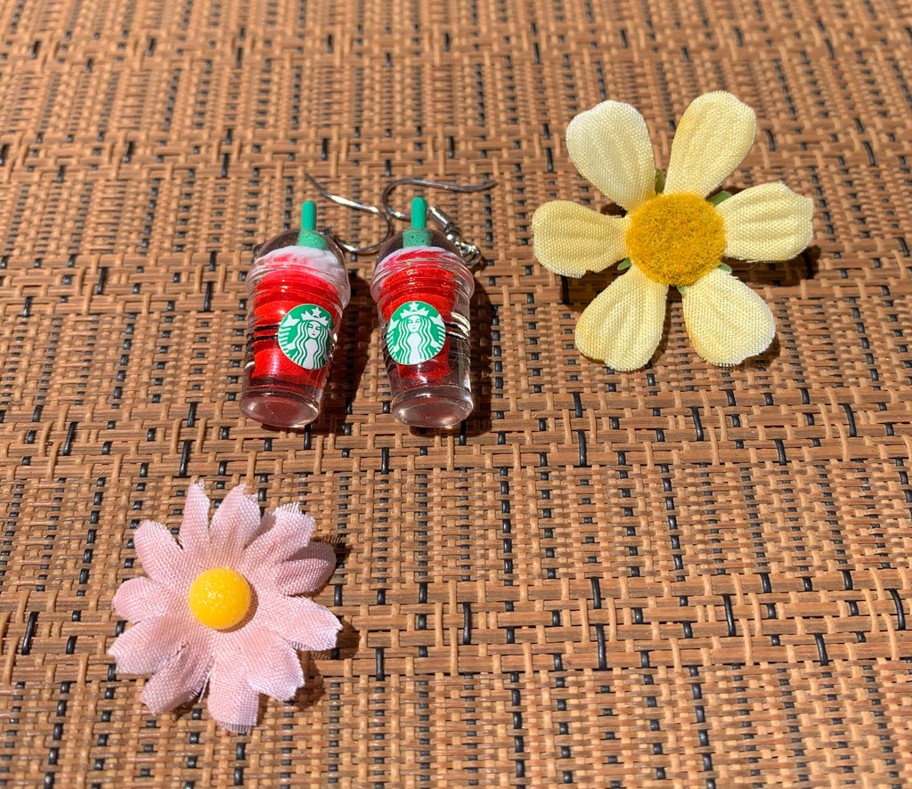 Frappuccino Earrings
