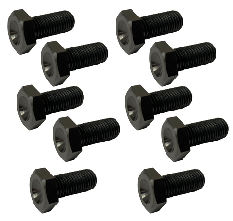 Black Ti Wheel Center Bolts