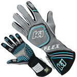 Flo Blue K1 Flex Gloves | SFI 3.3/5
