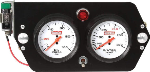 Gauge Panel with Oil Light - Kreitz Oval Track Parts