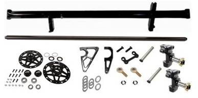 Premium Ultralite Front Axle Kit - Kreitz Oval Track Parts
