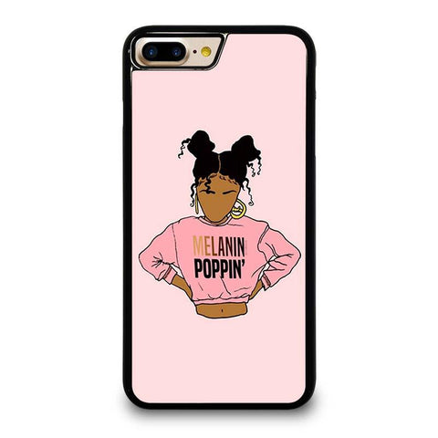 2BUNZ MELANIN POPPIN' ABA iPhone 4/4S 5/5S/SE 5C 6/6S 7 8 Plus X Case Cover