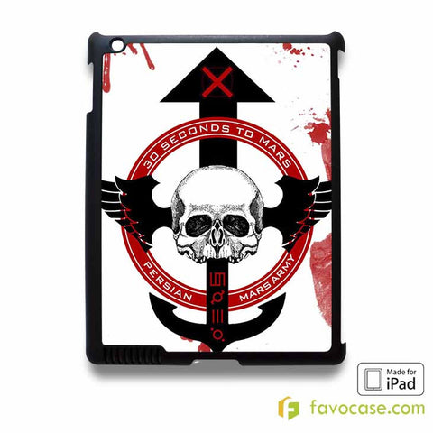 30 SECONDS TO MARS Band iPad 2 3 4 5 Air Mini Case Cover
