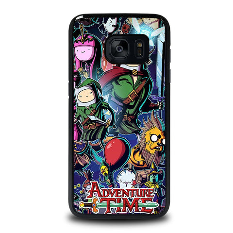 ADVENTURE-TIME-LEGEND-OF-ZELDA-samsung-galaxy-s7-edge-case-cover