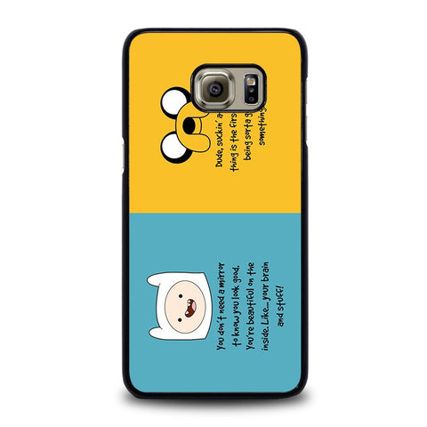 ADVENTURE-TIME-QUOTE-samsung-galaxy-s6-edge-plus-case-cover