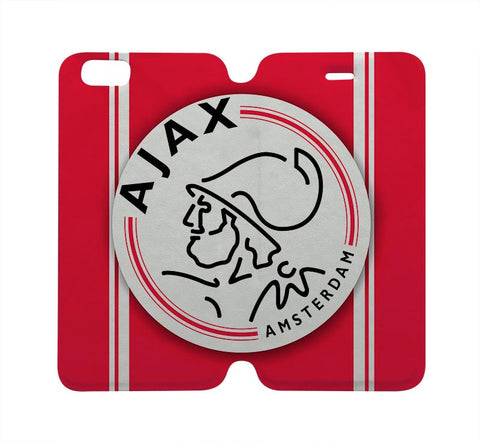 AJAX Football Club FC Wallet Case for iPhone 4/4S 5/5S/SE 5C 6/6S Plus Samsung Galaxy S4 S5 S6 Edge Note 3 4 5