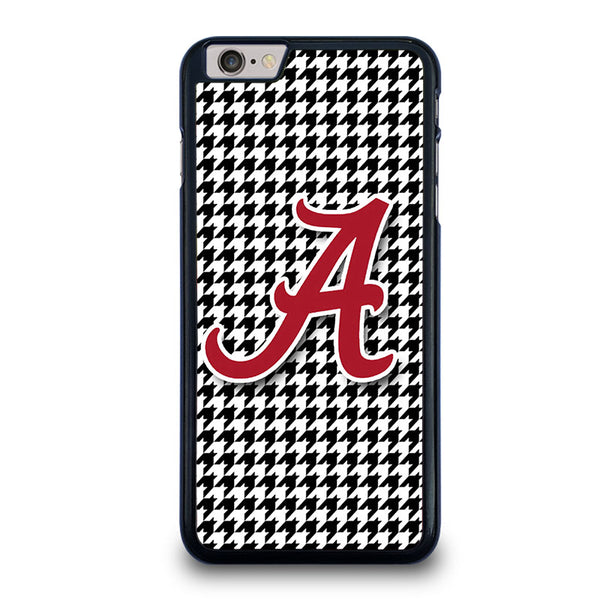 af79c433083 ALABAMA HOUNDSTOOTH CRIMSON TIDE iPhone 6   6S Plus Case Cover – Favocase