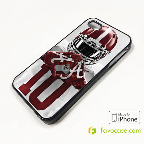 ALABAMA TIDE BAMA COLLEGE FOOTBALL iPhone 4/4S 5/5S/SE 5C 6/6S 7 8 Plus X Case Cover