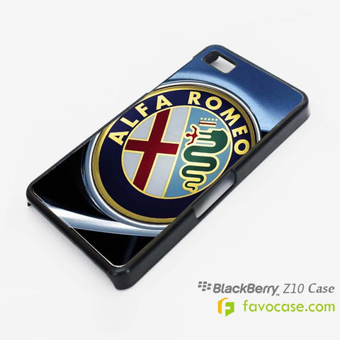 ALFA ROMEO Car Logo Blackberry Z10 Q10 Case Cover