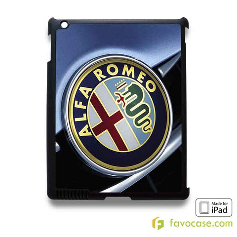 ALFA ROMEO Car Logo iPad 2 3 4 5 Air Mini Case Cover