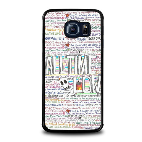 ALL-TIME-LOW-WRITTING-samsung-galaxy-s6-edge-case-cover
