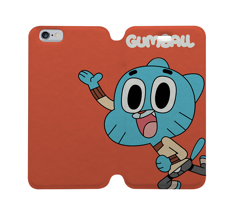 2c0dc89c76 AMAZING WORLD OF GUMBALL Wallet Case for iPhone 4/4S 5/5S/SE 5C 6/6S ...