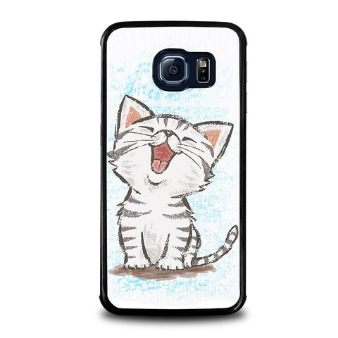 AMERICAN-SHORTHAIR-HAPPY-CAT-samsung-galaxy-s6-edge-case-cover