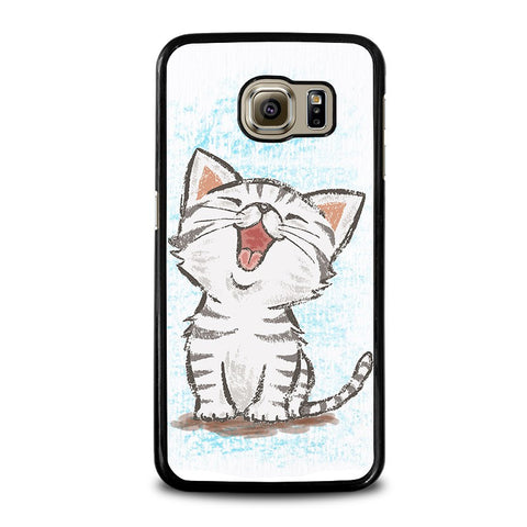 AMERICAN-SHORTHAIR-HAPPY-CAT-samsung-galaxy-s6-case-cover