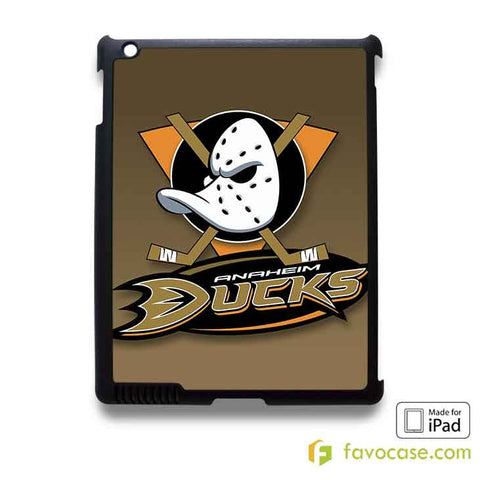 ANAHEIM DUCKS Ice Hockey Team NHL iPad 2 3 4 5 Air Mini Case Cover
