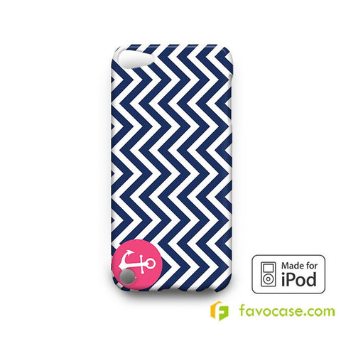 ANCHOR MONOGRAM 2  iPod Touch 4 5 6 Case