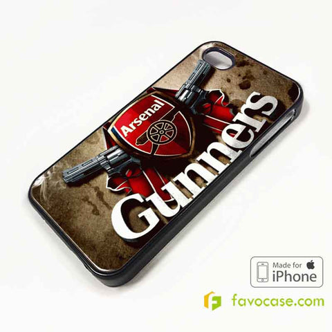 ARSENAL Football Club FC Gunners iPhone 4/4S 5/5S/SE 5C 6/6S 7 8 Plus X Case Cover