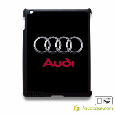 AUDI Car Logo iPad 2 3 4 5 Air Mini Case Cover