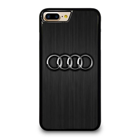 AUDI LOGO iPhone 4/4S 5/5S/SE 5C 6/6S 7 8 Plus X Case Cover