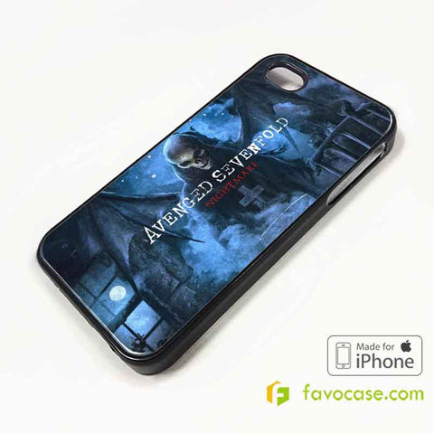 AVENGED SEVENFOLD Band A7X iPhone 4/4S 5/5S/SE 5C 6/6S 7 8 Plus X Case Cover