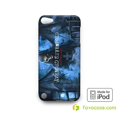 AVENGED SEVENFOLD Band A7X  iPod Touch 4, 5 Case Cover