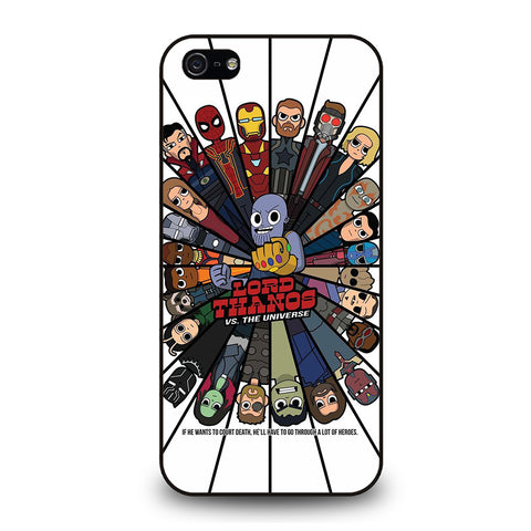 AVENGERS INFINITY WARS VS THANOS-iphone-5-5s-se-case-cover