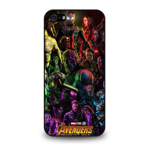 AVENGERS INFINITY WAR 1-iphone-5-5s-se-case-cover