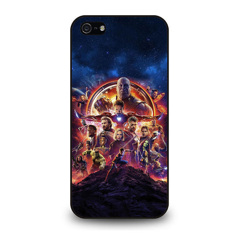 AVENGERS INFINITY WAR 2-iphone-5-5s-se-case-cover
