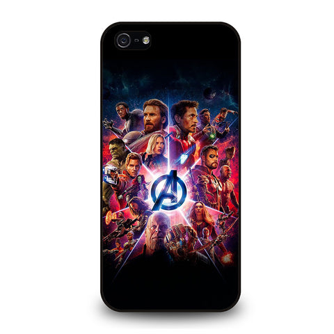AVENGERS INFINITY WAR 3-iphone-5-5s-se-case-cover