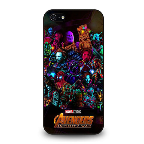 AVENGERS INFINITY WAR 4-iphone-5-5s-se-case-cover