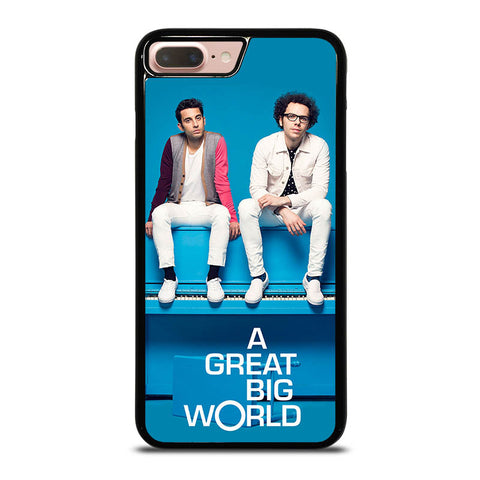A-GREAT-BIG-WORLD-iphone-8-plus-case-cover