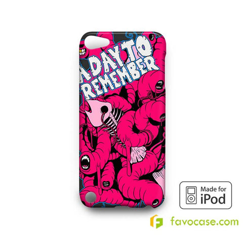 A DAY TO REMEMBER Band  iPod Touch 4 5 6 Case