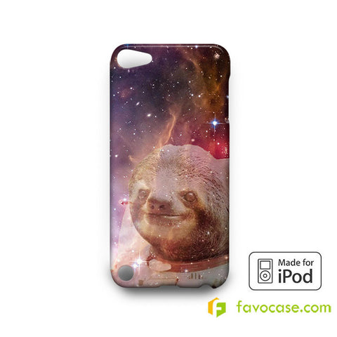 ASTRONOT SLOTH  iPod Touch 4 5 6 Case